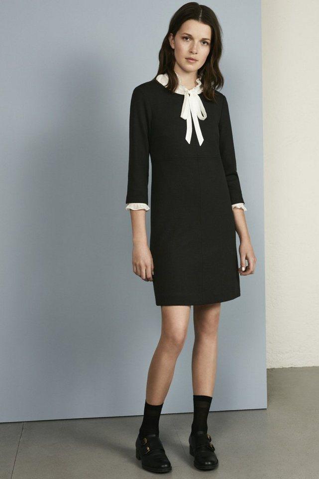 MORE&MORE Jerseykleid, schwarz in schwarz