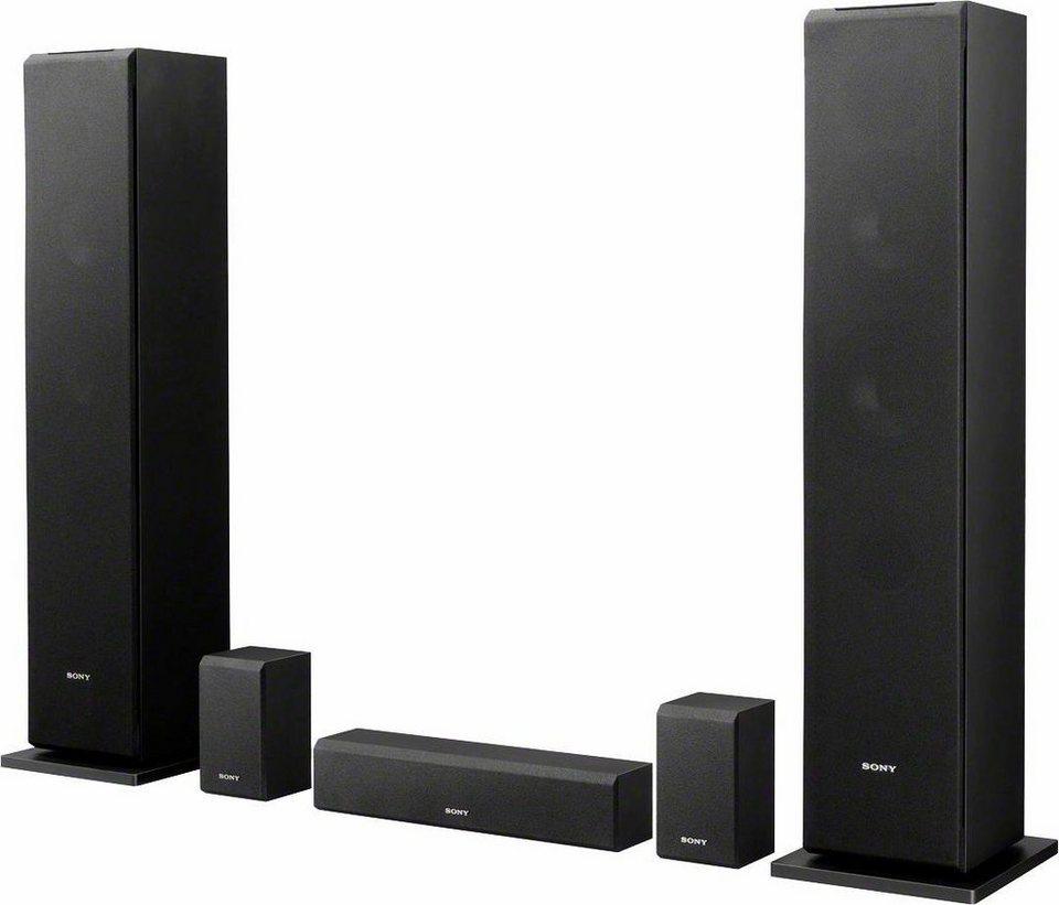 Sony SS-CS310CR Lautsprecher (Hi-Res) in schwarz