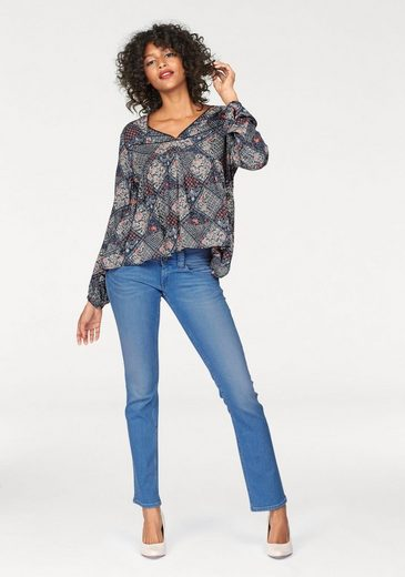 Pepe Jeans Straight-Jeans VENUS, mit breitem 2-Knopf-Bund