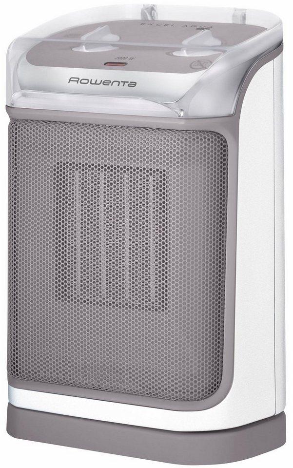 Rowenta Keramik-Heizlüfter SO9280F0 Excel Aqua Safe in grau/weiß