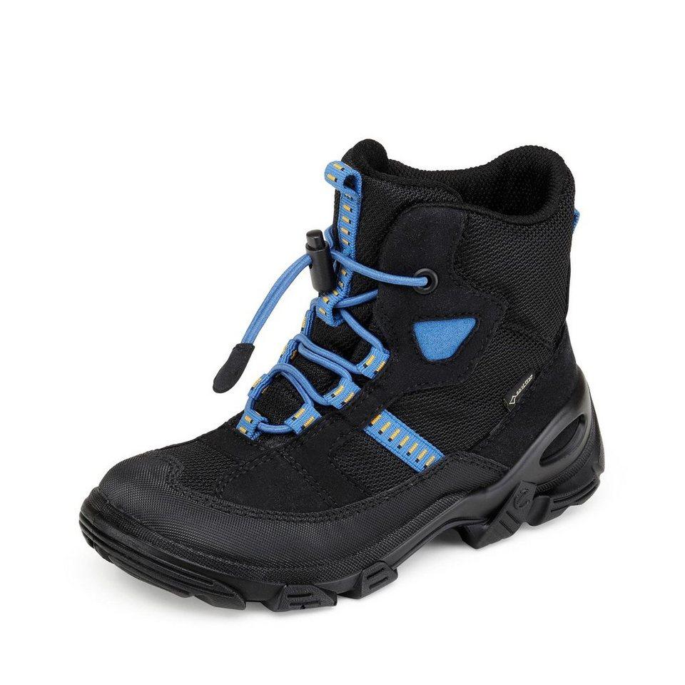 Ecco GORE-TEX® Winterstiefel in schwarz/blau