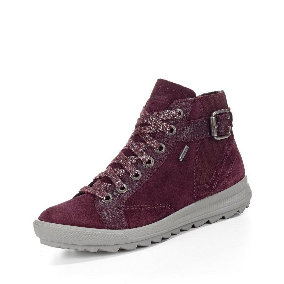 Superfit GORE-TEX® Schnürbootie in bordeaux