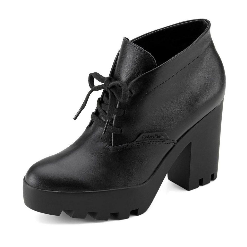 Calvin Klein Stevie Stiefelette in schwarz