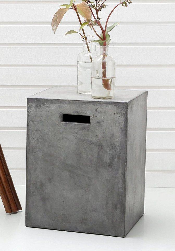 SIT Hocker »Cement«, 46 cm hoch in grau