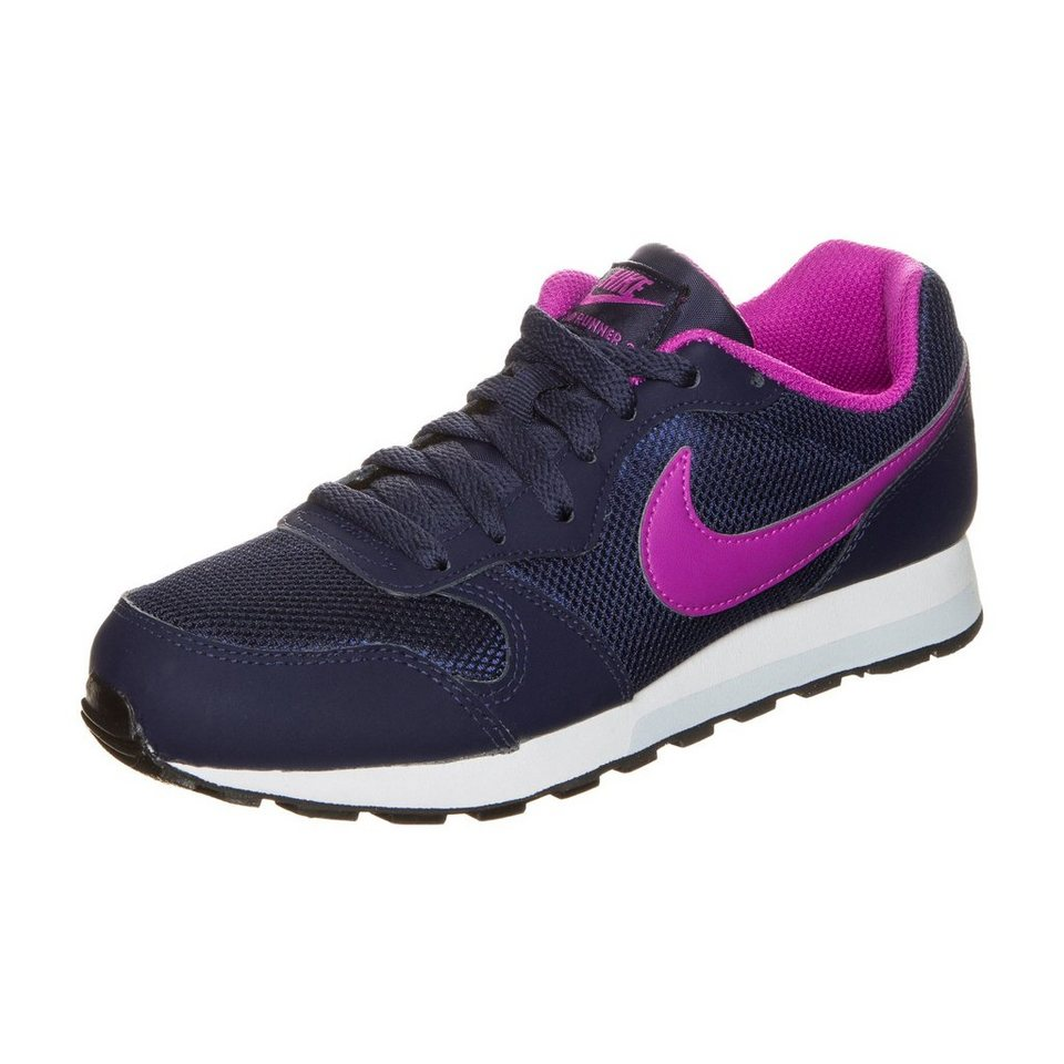 Nike Sportswear MD Runner 2 Sneaker Kinder in dunkelblau / violett