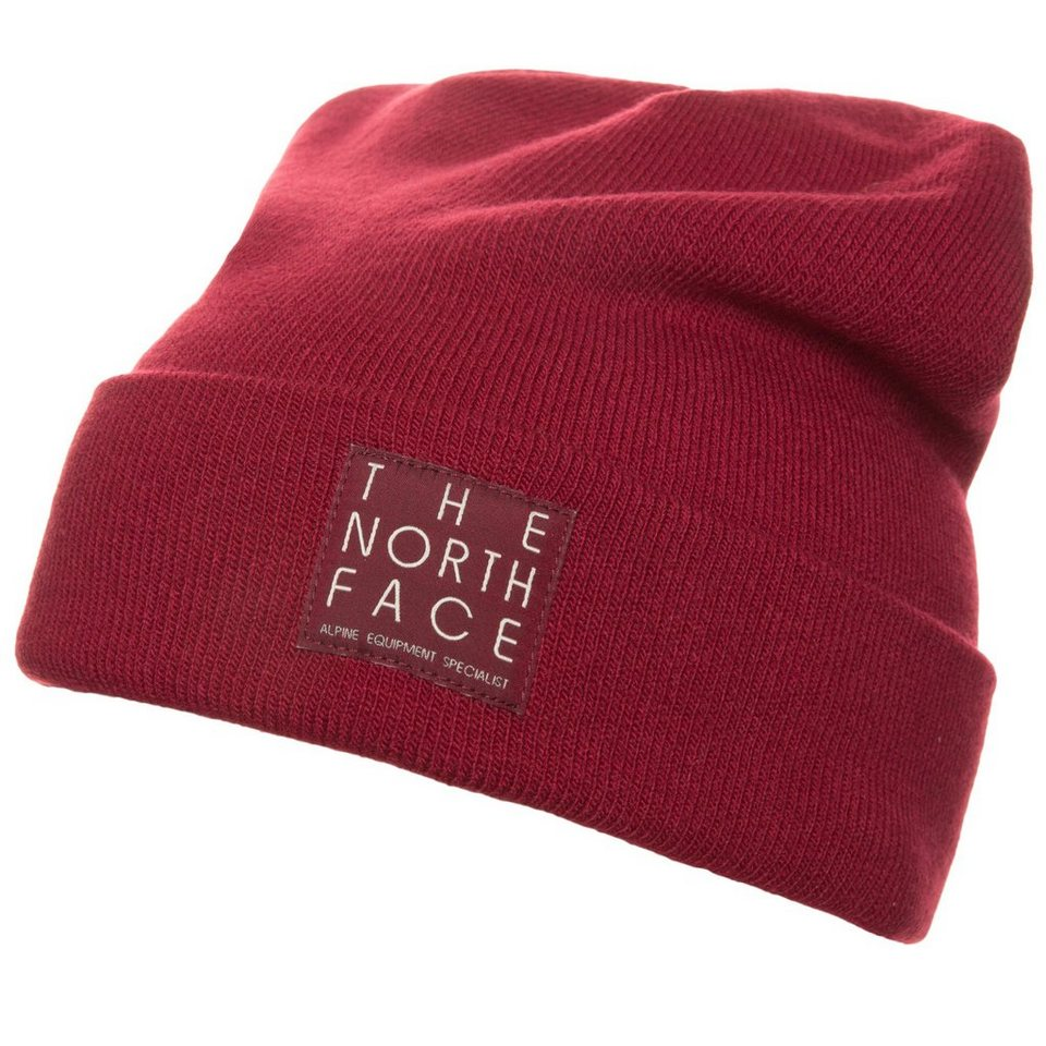 THE NORTH FACE Dock Worker Beanie in bordeaux