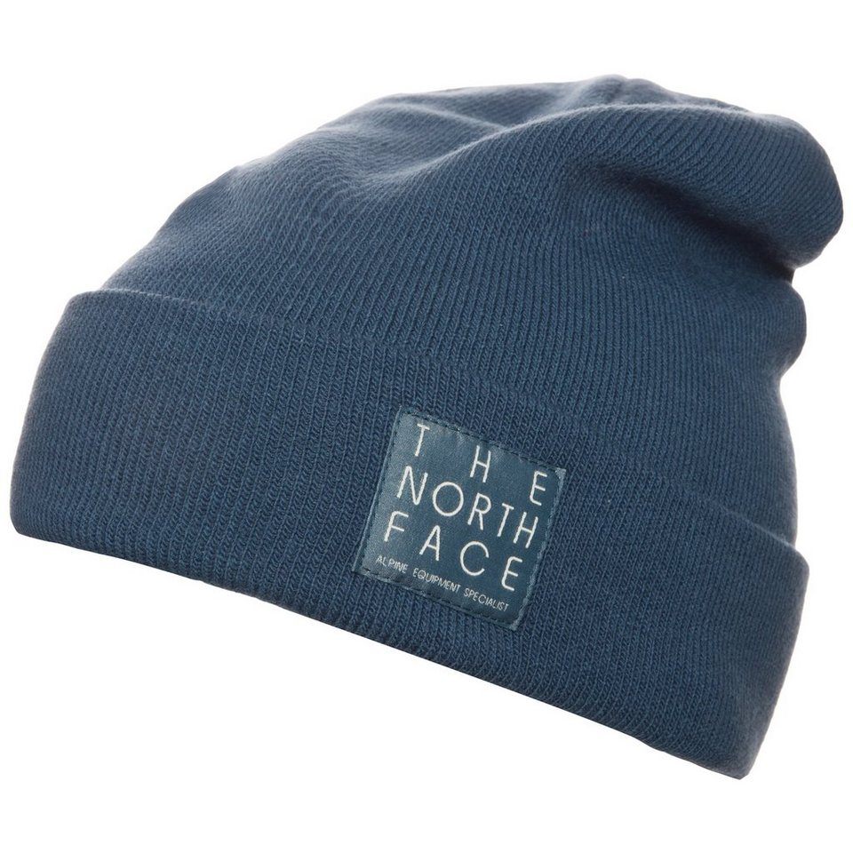 THE NORTH FACE Dock Worker Beanie in blau