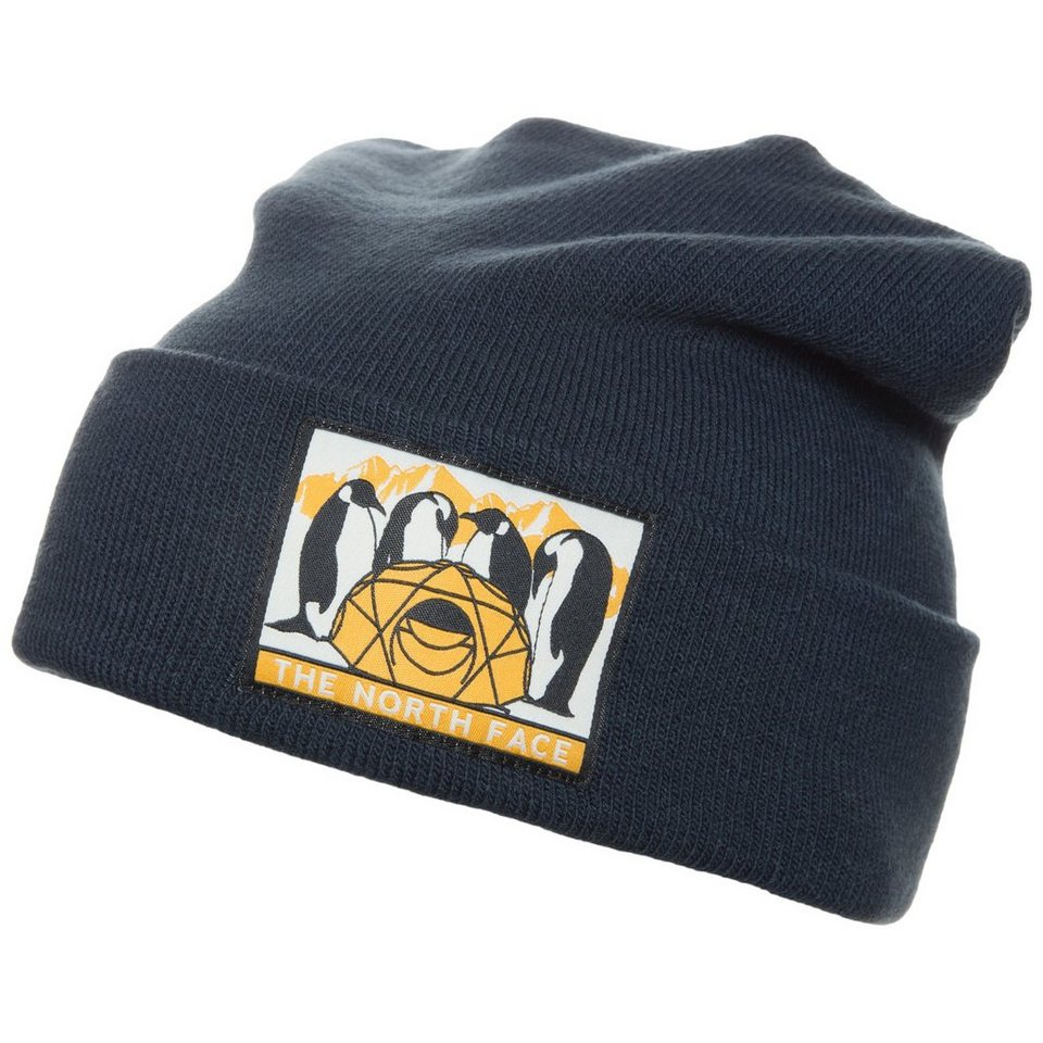 THE NORTH FACE Dock Worker Beanie in dunkelblau
