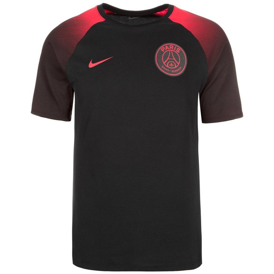 NIKE Paris Saint-Germain Match T-Shirt Herren in schwarz / rot