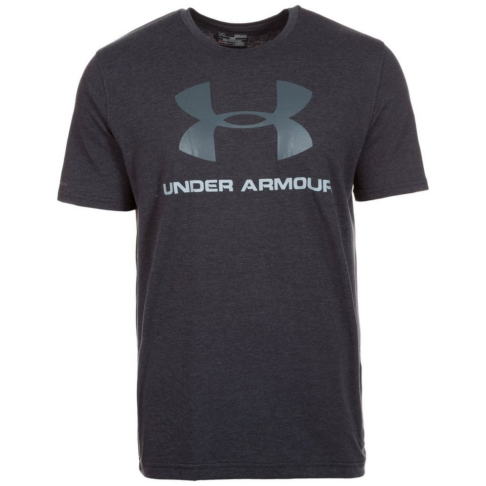 Under Armour® HeatGear CC Sportstyle Logo Trainingsshirt Herren in anthrazit
