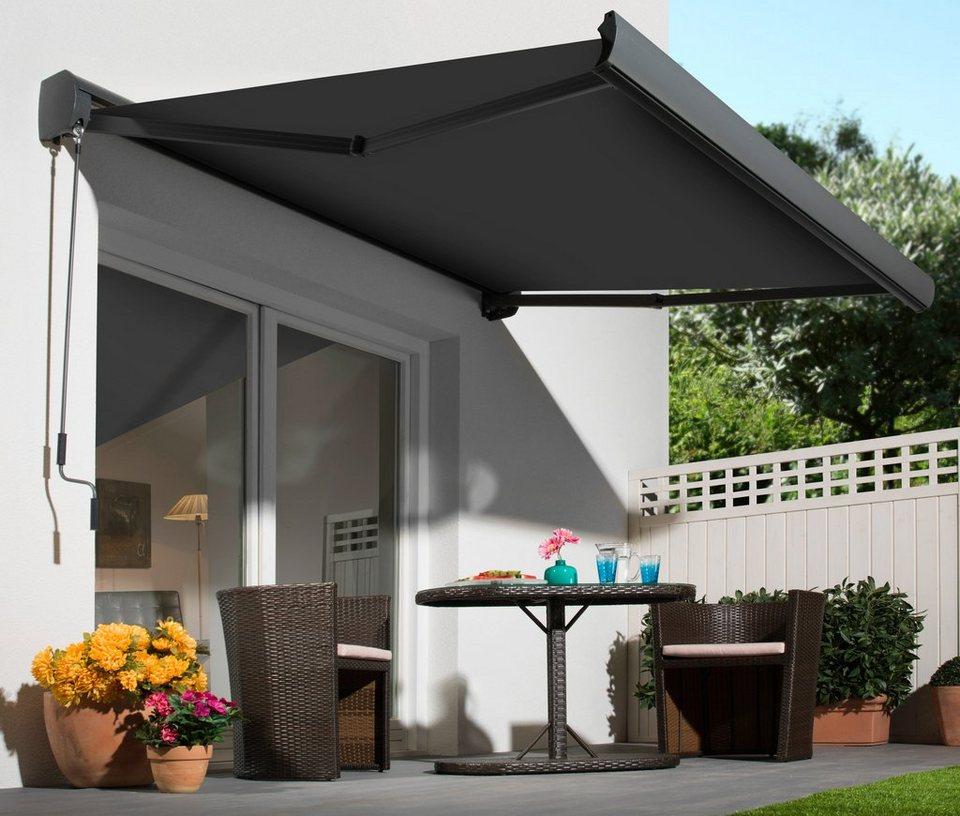 gelenkarmmarkise vollkassettenmarkise kaufen otto. Black Bedroom Furniture Sets. Home Design Ideas