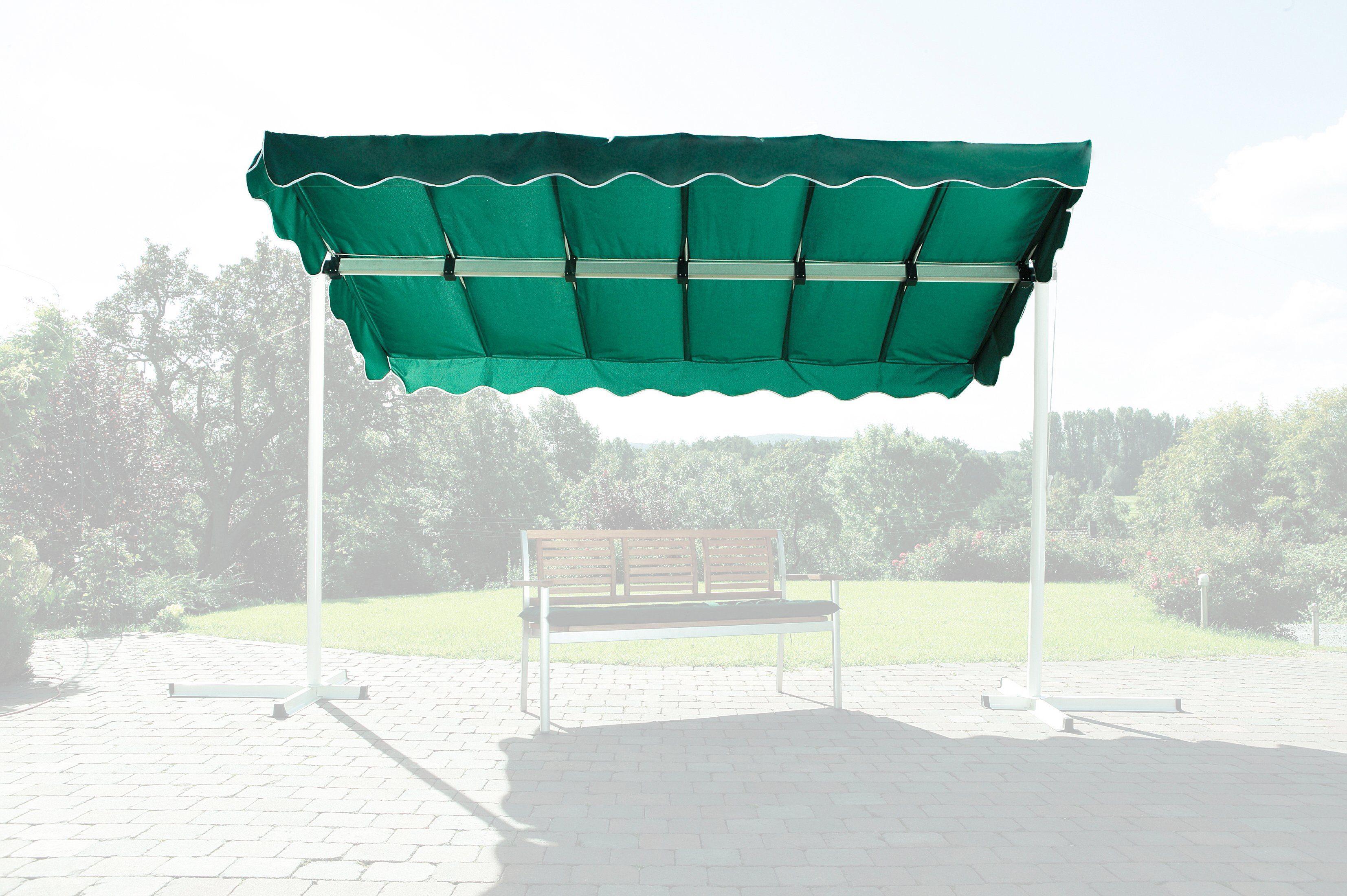 Ersatzdach »Raffmarkise Dubai, grün«