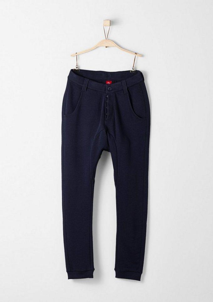 s.Oliver RED LABEL Junior Jogging Pants im Chino-Look für Jungen in dark blue
