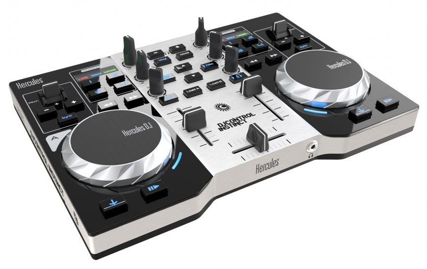 HERCULES DJ Control Instinct S Series Party Pack »(PC)«