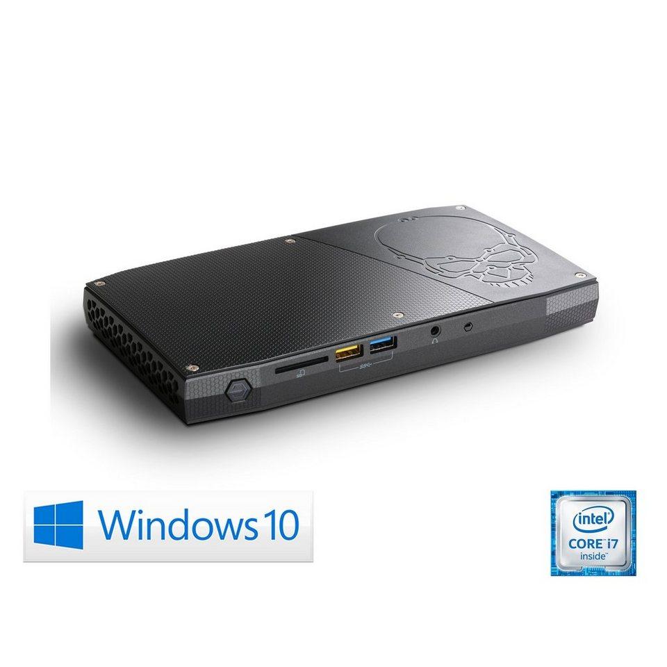 CSL Mini PC   Core i7-6770HQ   Intel HD 580   8GB DDR4   SSD »Intel NUC Core i7-6770HQ Windows 10« in schwarz