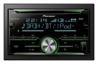pioneer 2 din autoradio fh x840dab online kaufen otto. Black Bedroom Furniture Sets. Home Design Ideas