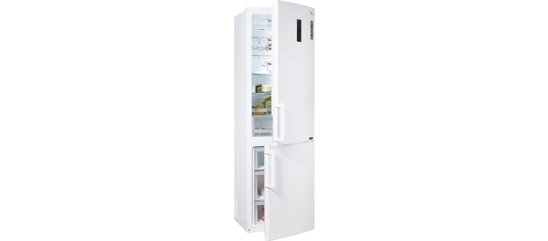 LG Kühl-Gefrierkombination GBB60SWFFB, Energieklasse A+++, 201 cm hoch, NoFrost