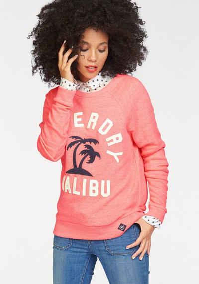 Superdry Sweatshirt »APPLIQUE RAGLAN CREW«, mit Stickerei vorne Sale Angebote Schwarzheide