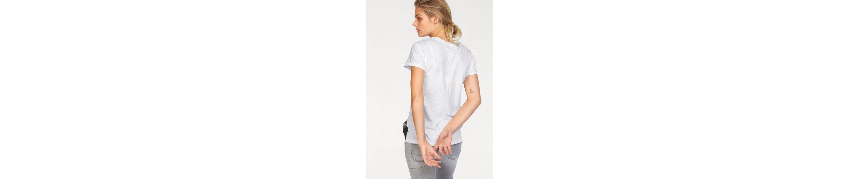 Replay T-Shirt, mit Pailletten