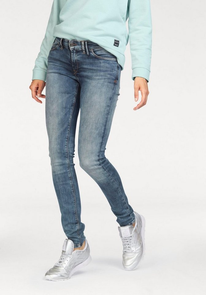 Marc O'Polo DENIM Skinny-fit-Jeans »Siv« in light-blue