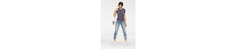 AJC 7/8-Jeans, Röhre mit Reißverschluss am Saum