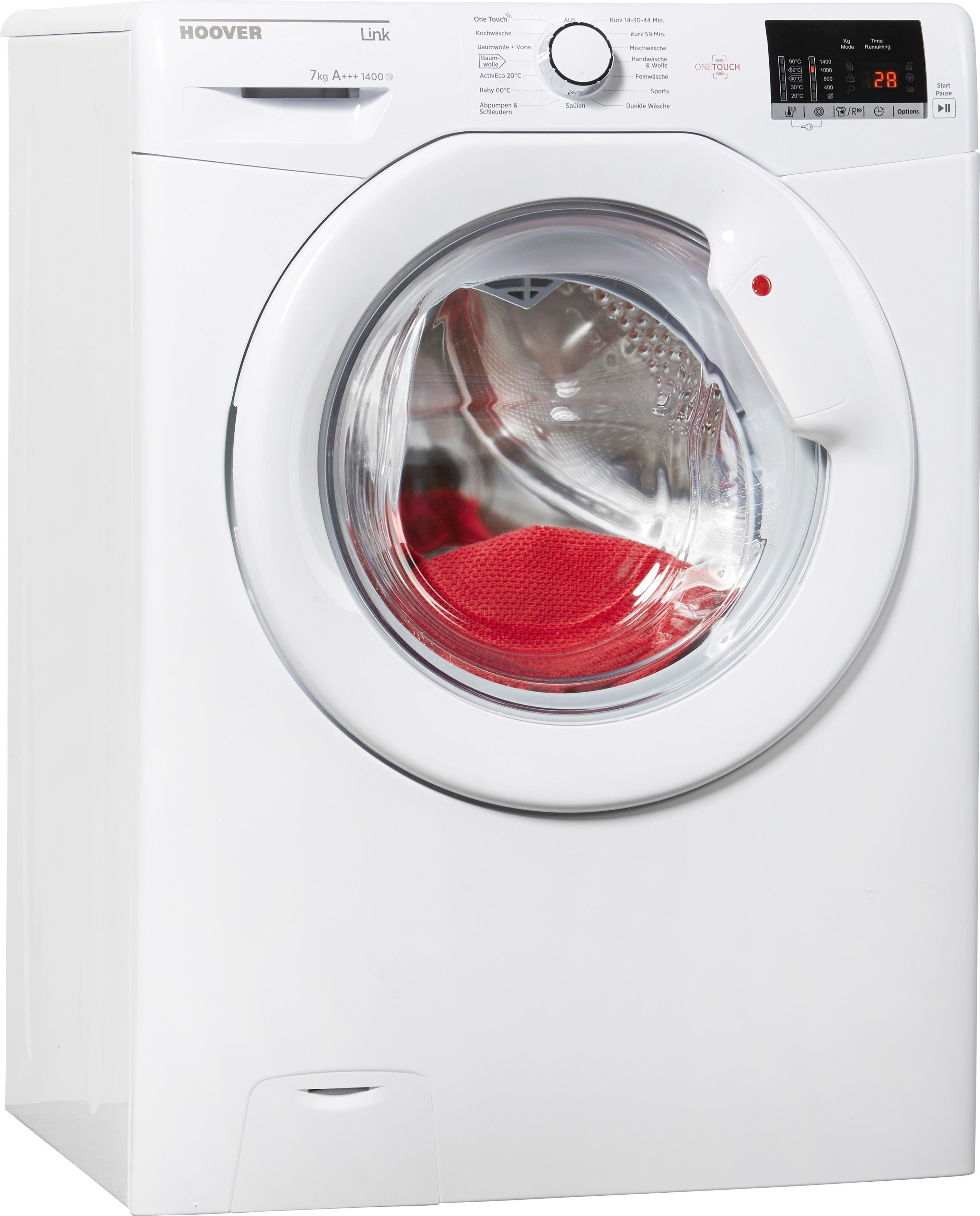 Hoover Waschmaschine HL G1472 D3, A+++, 7 kg, 1400 U/Min