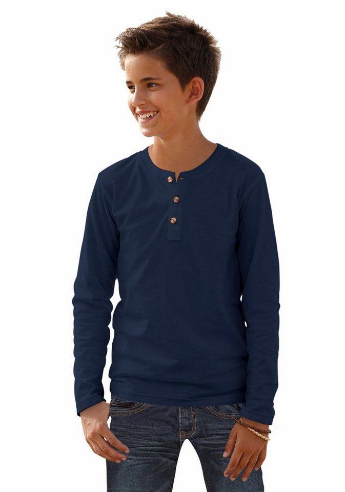 KIDSWORLD Langarmshirt in blau