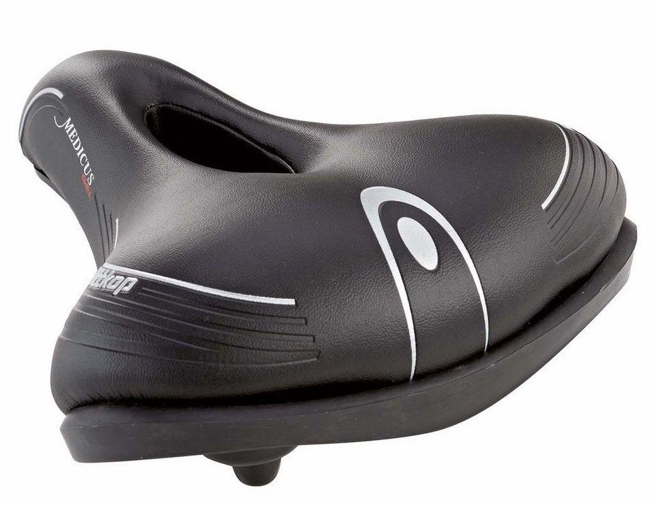Wittkopp Fahrradsattel, schwarz