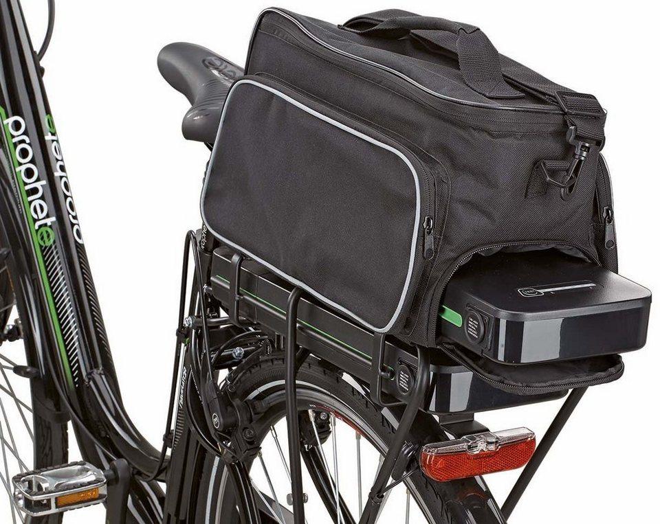 prophete fahrradtasche schwarz befestigung auf dem. Black Bedroom Furniture Sets. Home Design Ideas