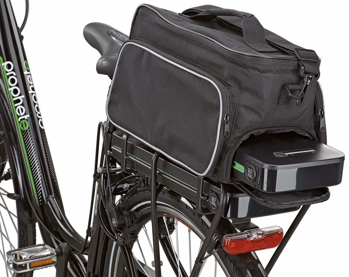 Prophete Fahrradtasche, schwarz