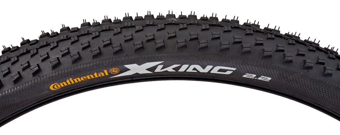 Continental Fahrradreifen, schwarz, »X-King MTB«