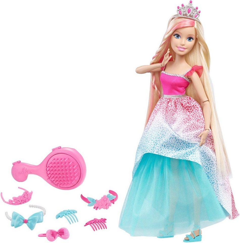 Mattel Puppe, »Barbie Das Große Zauberhaar Königreich Prinzessin Blond«