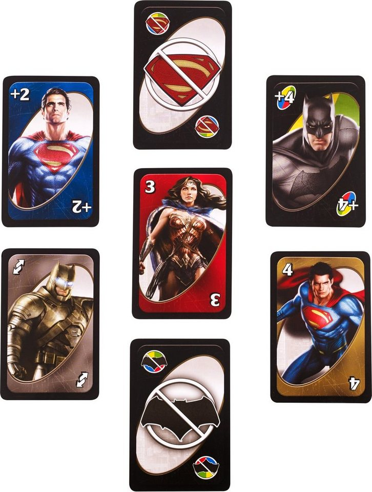 Mattel Kartenspiel, »Mattel Games UNO™ Batman v Superman«