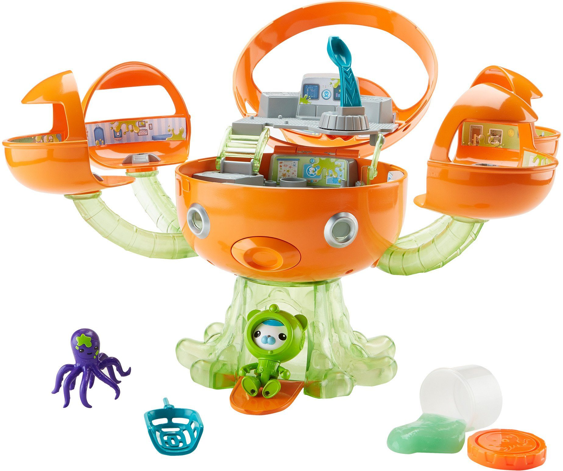 Fisher Price Spielset mit Licht und Soundfunktion, »Die Oktonauten Meeresschleim Oktopod Spielset«
