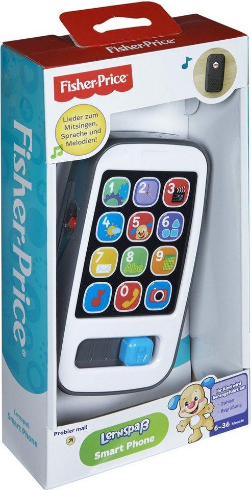 Fisher Price Lernspielzeug mit Licht und Soundfunktion, »Lernspaß Smart Phone«