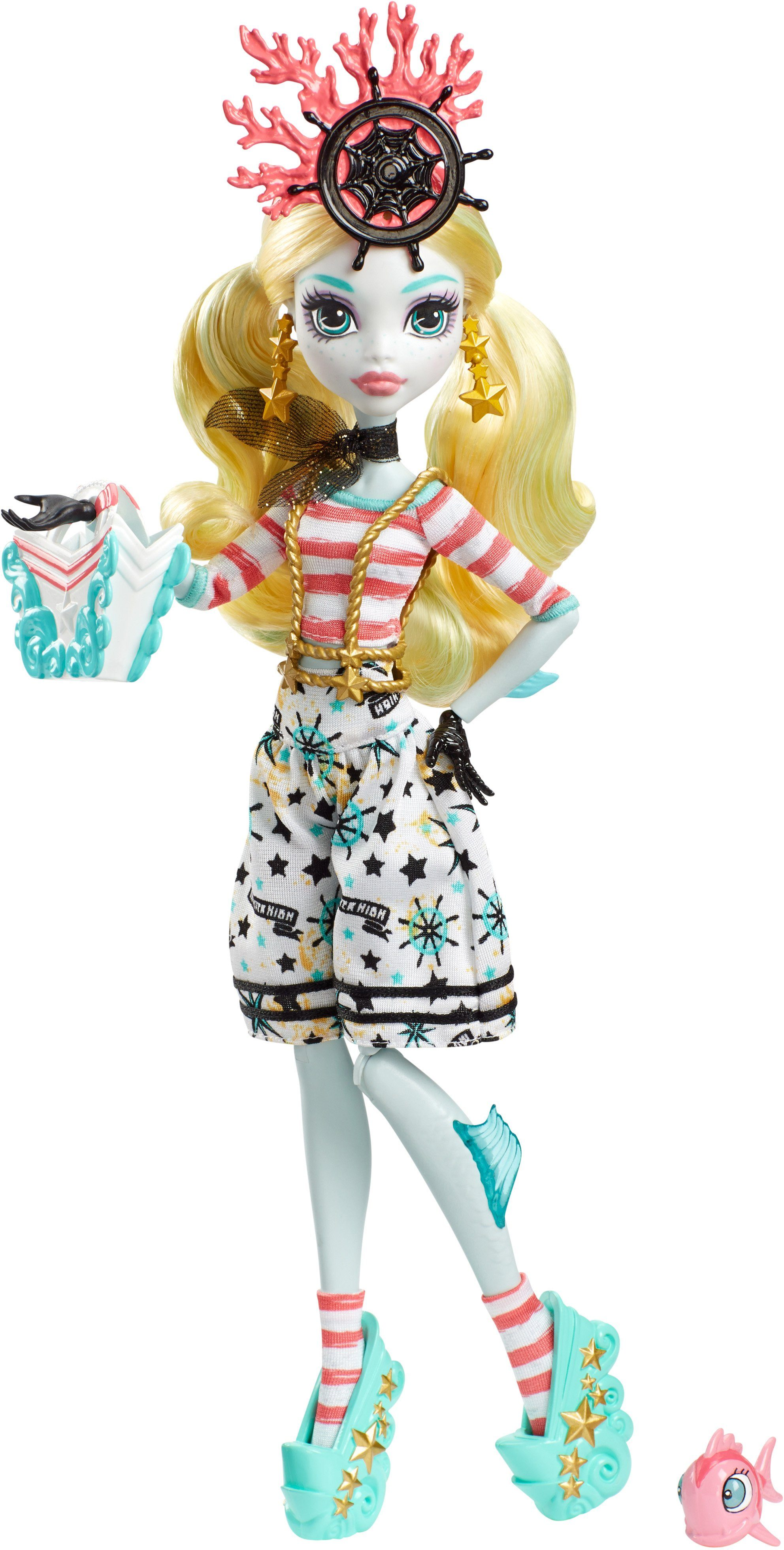 Mattel Puppe, »Monster High Gruselschiff Lagoona Blue®«