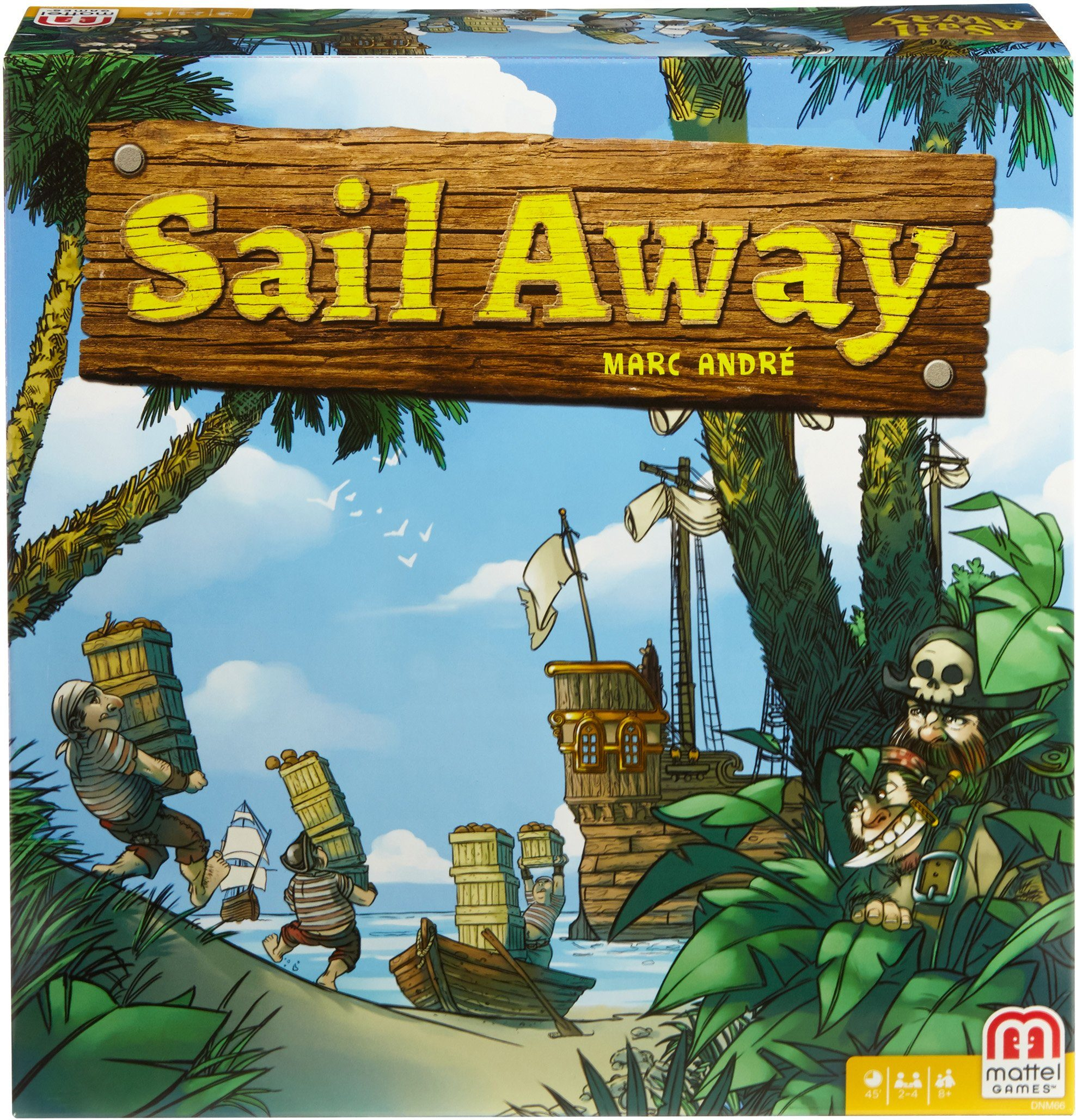 Mattel, Strategiespiel, »Mattel Games Sail Away«