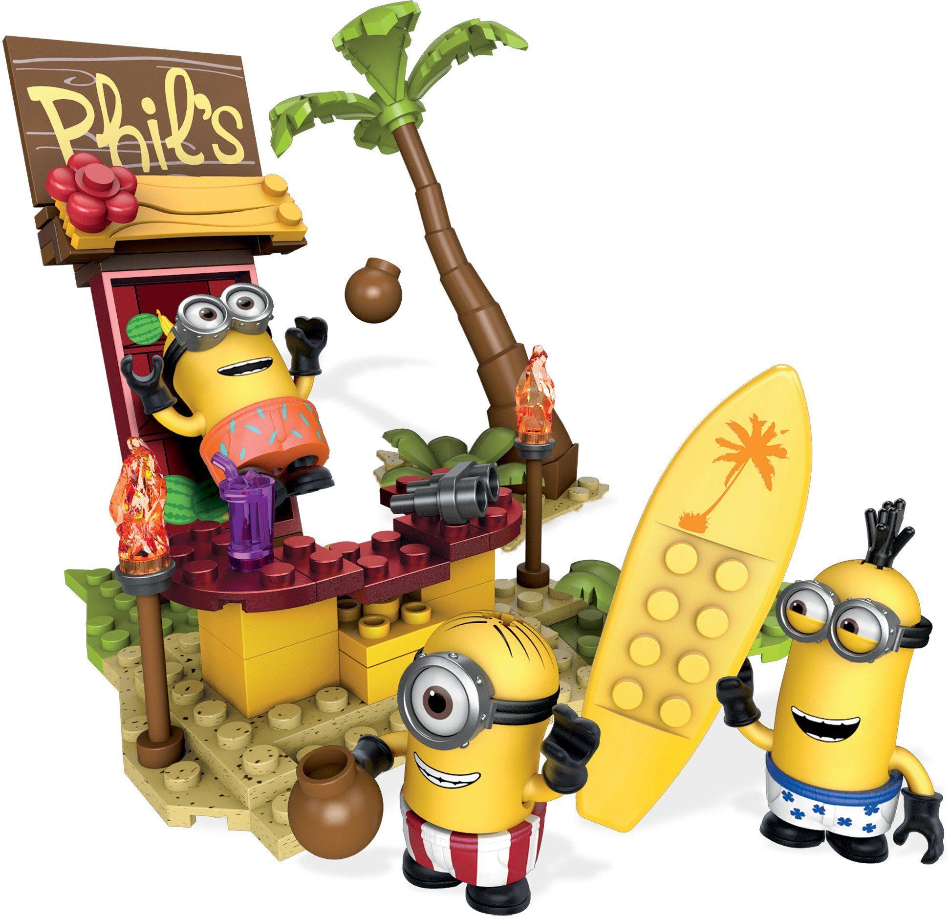 Mattel Bausteinset, »Mega Bloks Minions Insel Chaos«