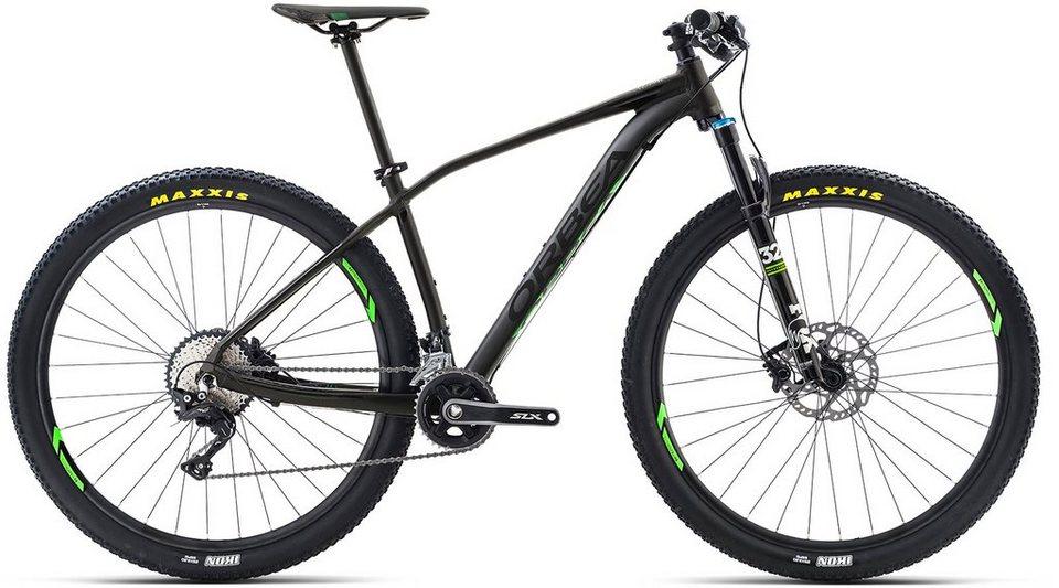 ORBEA Hardtail Mountainbike, 29 Zoll, 22 Gang Shimano XT Kettenschaltung, »ALMA H10« in schwarz-grün