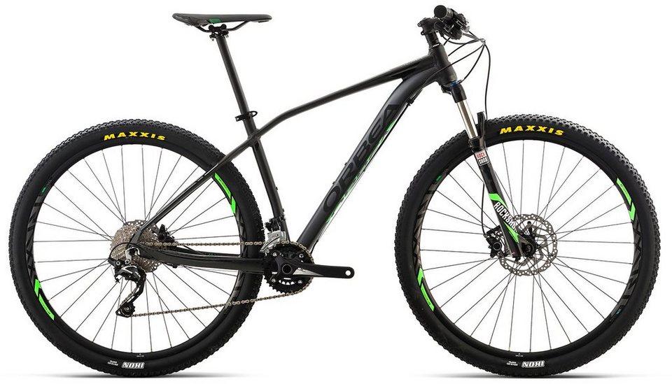 ORBEA Hardtail Mountainbike, 27,5 Zoll, 20 Gang Shimano SLX Kettenschaltung, »ALMA H50« in schwarz-grün