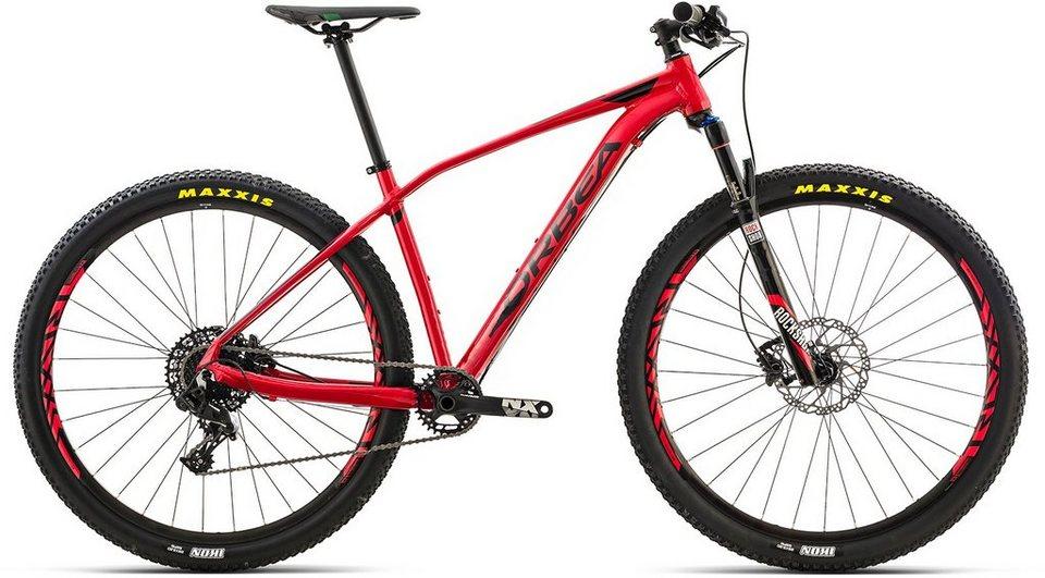 ORBEA Hardtail Mountainbike, 27,5 Zoll, 11 Gang SRAM NX Kettenschaltung, »ALMA H20« in rot-schwarz