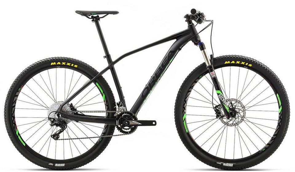 ORBEA Hardtail Mountainbike, 29 Zoll, 22 Gang Shimano XT Kettenschaltung, »ALMA H30« in schwarz-grün