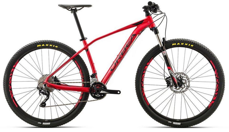 ORBEA Hardtail Mountainbike, 29 Zoll, 20 Gang Shimano SLX Kettenschaltung, »ALMA H50« in rot-schwarz