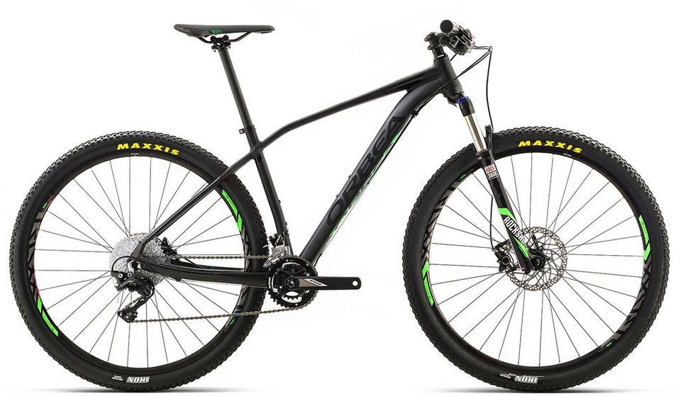 ORBEA Hardtail Mountainbike, 27,5 Zoll, 22 Gang Shimano XT Kettenschaltung, »ALMA H30« in schwarz-grün
