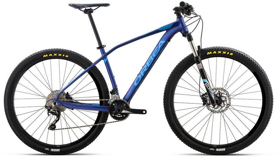 ORBEA Hardtail Mountainbike, 27,5 Zoll, 20 Gang Shimano SLX Kettenschaltung, »ALMA H50« in blau
