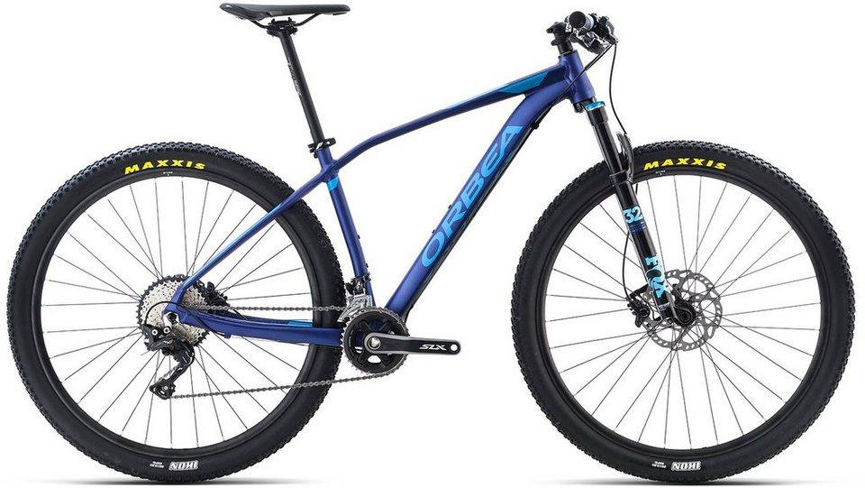ORBEA Hardtail Mountainbike, 27,5 Zoll, 22 Gang Shimano XT Kettenschaltung, »ALMA H10« in blau