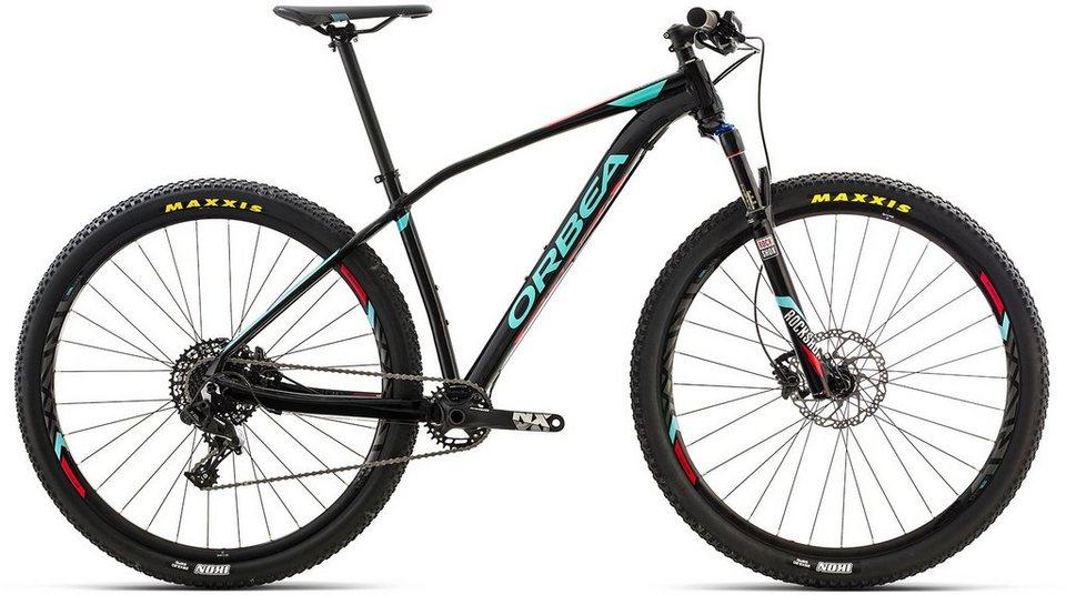 ORBEA Hardtail Mountainbike, 27,5 Zoll, 11 Gang SRAM NX Kettenschaltung, »ALMA H20« in schwarz-blau-rot