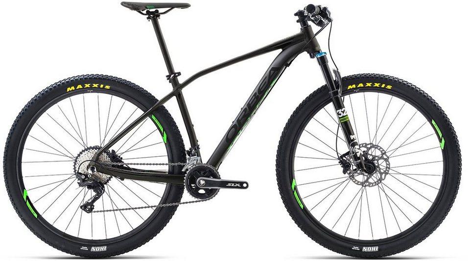 ORBEA Hardtail Mountainbike, 27,5 Zoll, 22 Gang Shimano XT Kettenschaltung, »ALMA H10« in schwarz-grün