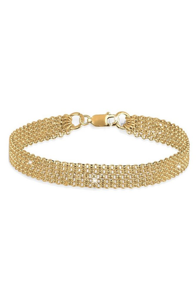 Goldhimmel Armband »5-Lagig 925 Sterling Silber vergoldet« in Gold