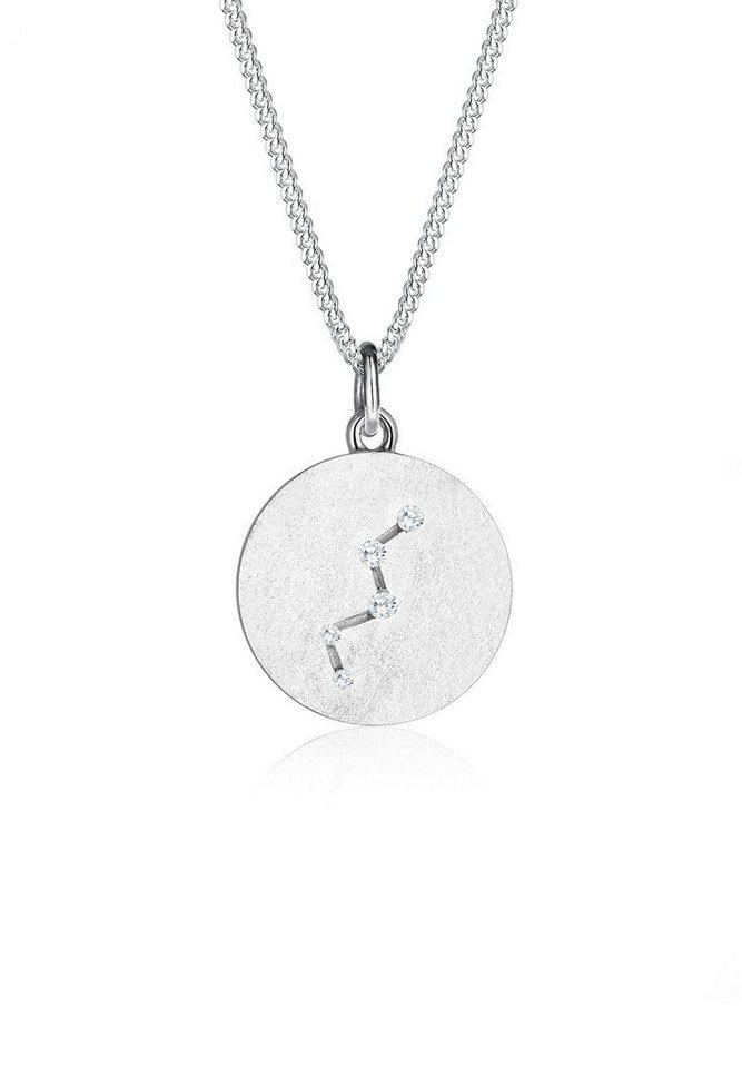 Elli Halskette »925 Sterling Silber Cassiopeia« in Silber